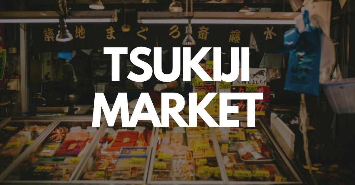 Tsukiji market street food tour