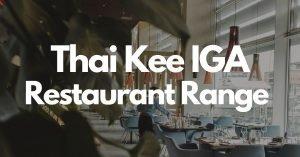 Thai Kee IGA Sydney